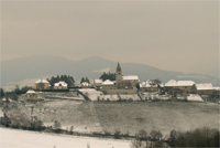 Picture : General view snow-covered